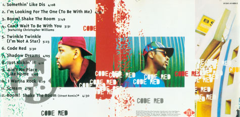 Will Smith and Jazzy Jeff Fresh Prince Code Red Album