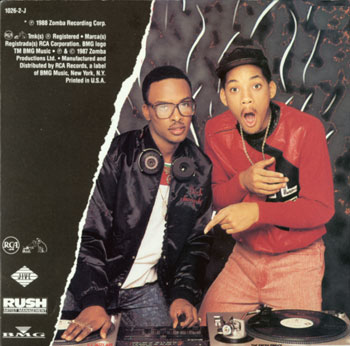 Will Smith, Jazzy Jeff and Fresh Prince Rock The House Album Cover