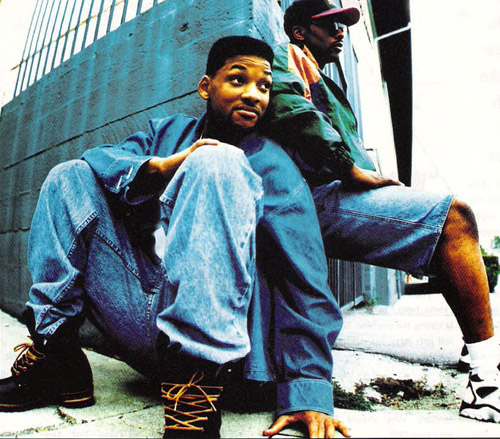Will Smith and Jazzy Jeff 1993 Promo Photo Shoot