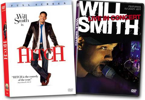 Will Smith Live in Concert Walmart DVD plus Hitch DVD