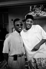 On the set of Fresh Prince of Bel Air
