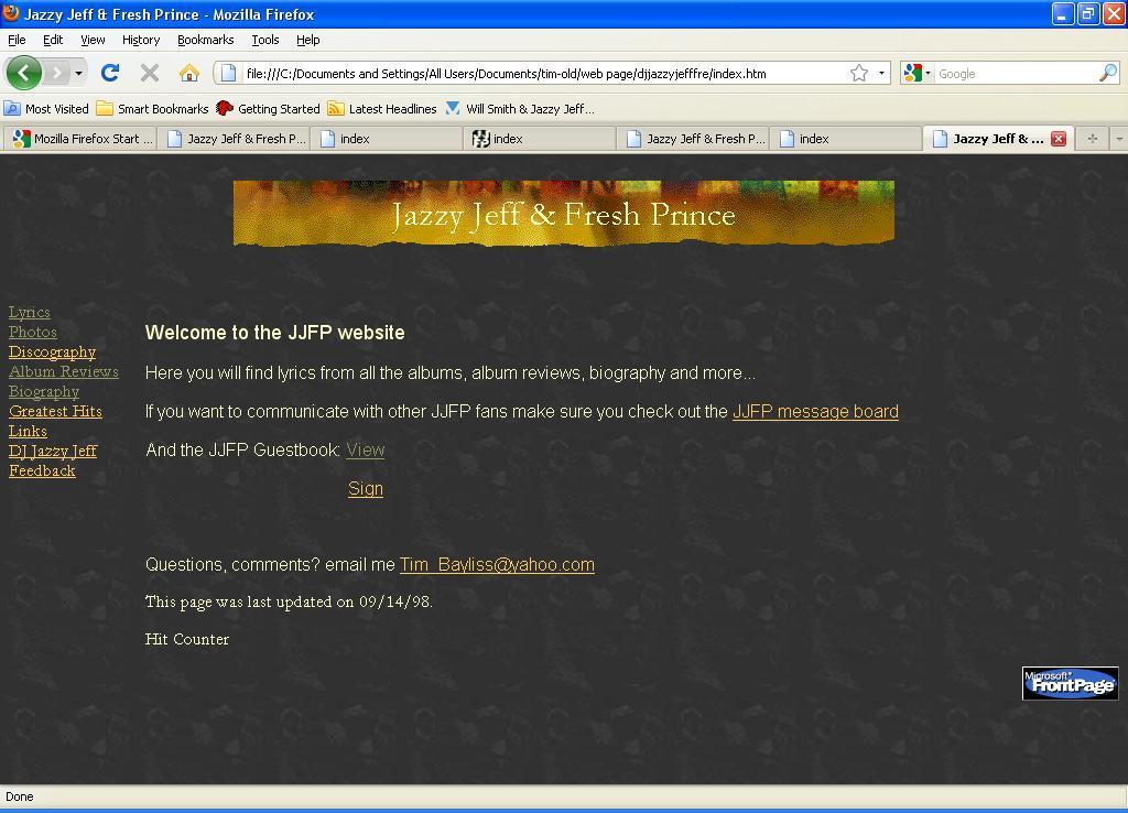 JJFP.com history