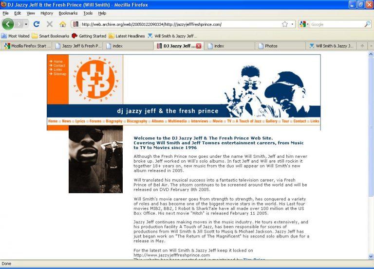 25 Years of JazzyJeffFreshPrince.com