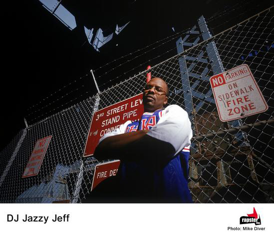 Episodes of The Fresh Prince of Bel Air which starred DJ Jazzy Jeff