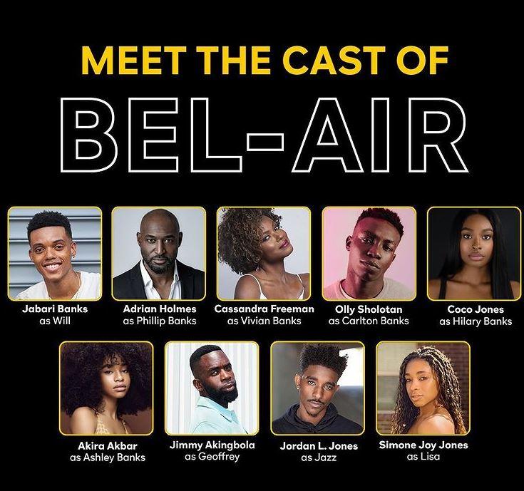 Full Bel Air cast announced for Peacock TV Series